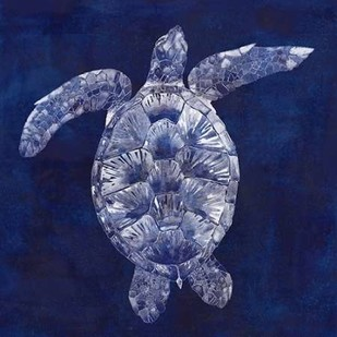 Sea Turtle Shadow II Digital Print by Popp, Grace,Decorative