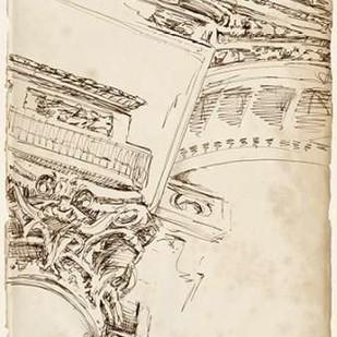 Architects Sketchbook II Digital Print by Harper, Ethan,Illustration