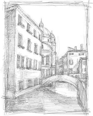 Sketches of Venice IV Digital Print by Harper, Ethan,Illustration