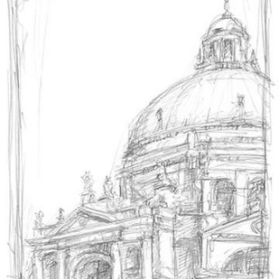Sketches of Venice II Digital Print by Harper, Ethan,Illustration