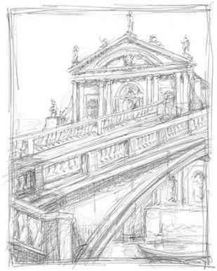 Sketches of Venice I Digital Print by Harper, Ethan,Illustration
