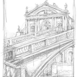 Sketches of Venice I Digital Print by Harper, Ethan,Illustration