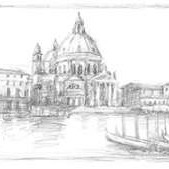 Sketches of Venice V Digital Print by Harper, Ethan,Illustration