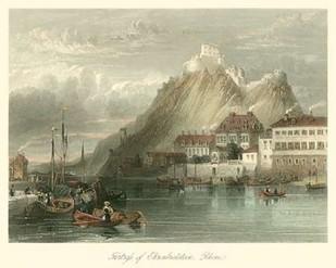 Fortress on the Rhine Digital Print by Leitch, W.L.,Impressionism