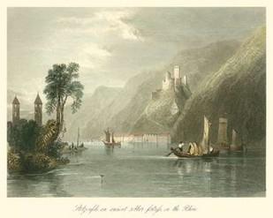On the Rhine Digital Print by Bartlett, W.H.,Impressionism