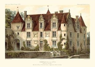 French Chateaux VI Digital Print by Petit, Victor,Realism