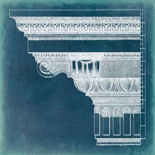 Capital Blueprint I Digital Print by Vision Studio,Geometrical