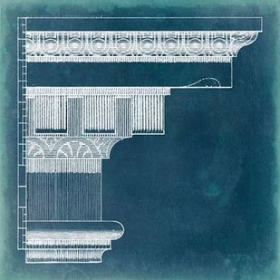 Capital Blueprint IV Digital Print by Vision Studio,Geometrical