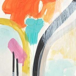 Rhythm Variations II Digital Print by Vess, June Erica,Abstract