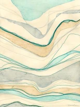 Ocean Cascade II Digital Print by Lam, Vanna,Abstract