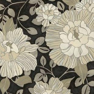 Garden Noir I Digital Print by Vess, June Erica,Decorative