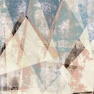 Color Juxtapose I Digital Print by Goldberger, Jennifer,Abstract