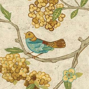 Antique Aviary II Digital Print by Zarris, Chariklia,Decorative