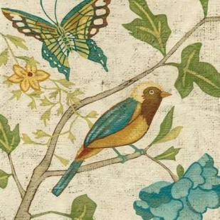 Antique Aviary III Digital Print by Zarris, Chariklia,Decorative