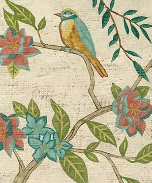 Antique Aviary IV Digital Print by Zarris, Chariklia,Decorative