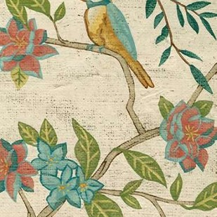 Antique Aviary IV Digital Print by Zarris, Chariklia,Decorative