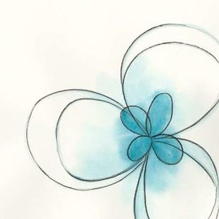 Floral Gesture II Digital Print by Vess, June Erica,Decorative