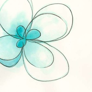 Floral Gesture III Digital Print by Vess, June Erica,Decorative