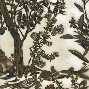 Teahouse Chinoiserie II Digital Print by Zarris, Chariklia,Decorative