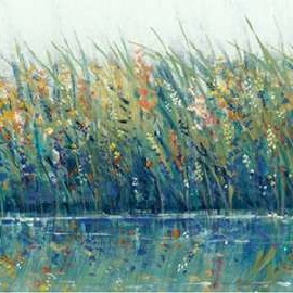 Wildflower Reflection I Digital Print by Otoole, Tim,Impressionism