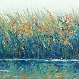 Wildflower Reflection II Digital Print by Otoole, Tim,Impressionism