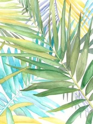 Tropical Pattern II Digital Print by Meagher, Megan,Decorative