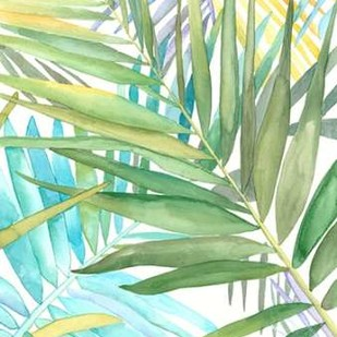 Tropical Pattern II Digital Print by Meagher, Megan,Decorative