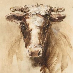 Western Ranch Animals II Digital Print by Harper, Ethan,Impressionism