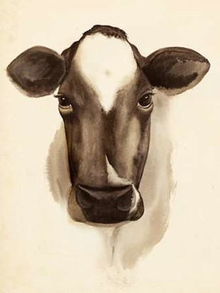 Watercolor Barn Animals IV Digital Print by Popp, Grace,Decorative