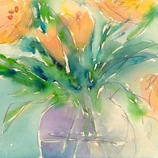 Something Floral III Digital Print by Dixon, Samuel,Impressionism, Impressionism