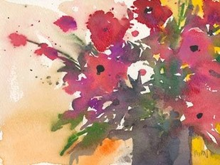 Something Floral IV Digital Print by Dixon, Samuel,Impressionism