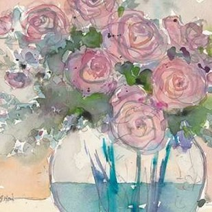 Something Floral VI Digital Print by Dixon, Samuel,Impressionism