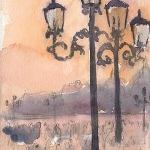 Venice Watercolors I Digital Print by Dixon, Samuel,Impressionism