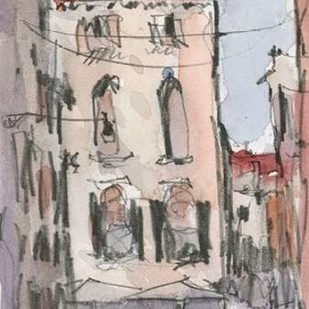 Venice Watercolors III Digital Print by Dixon, Samuel,Impressionism