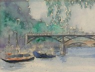 Venice Watercolors V Digital Print by Dixon, Samuel,Impressionism