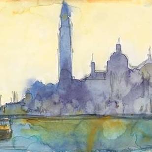 Venice Watercolors VI Digital Print by Dixon, Samuel,Impressionism
