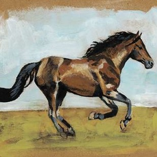 Equestrian Studies I Digital Print by McCavitt, Naomi,Expressionism