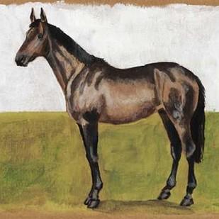 Equestrian Studies IV Digital Print by McCavitt, Naomi,Expressionism