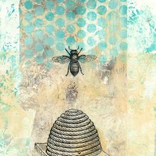Vintage Beekeeper II Digital Print by McCavitt, Naomi,Decorative