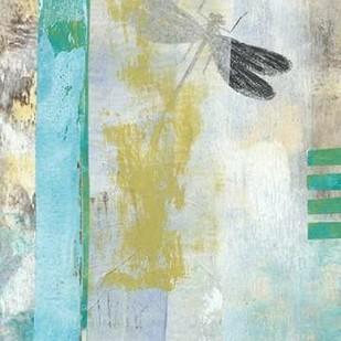 Serene Dragonfly I Digital Print by McCavitt, Naomi,Abstract