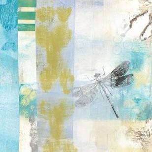 Serene Dragonfly II Digital Print by McCavitt, Naomi,Abstract