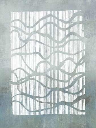 Inverse Grey Digital Print by Goldberger, Jennifer,Abstract