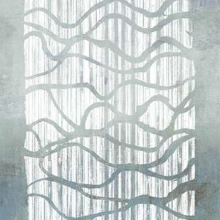Inverse Grey Digital Print by Goldberger, Jennifer,Abstract