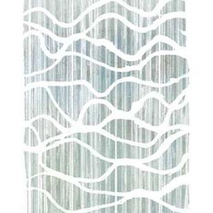Exverse Grey Digital Print by Goldberger, Jennifer,Abstract