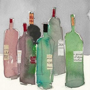 Wine Party I Digital Print by Dixon, Samuel,Impressionism