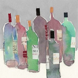 Wine Party II Digital Print by Dixon, Samuel,Impressionism