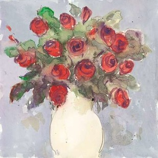 Watercolor Bouquet I Digital Print by Dixon, Samuel,Impressionism