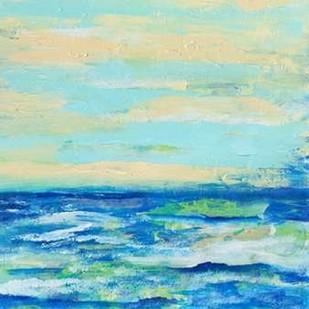 Emily's Waters II Digital Print by Brewington, Olivia,Impressionism