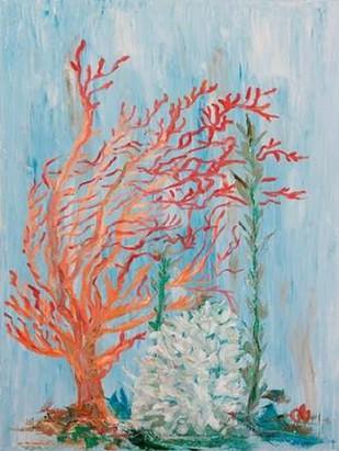 Painterly Coral I Digital Print by Brewington, Olivia,Decorative