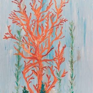 Painterly Coral II Digital Print by Brewington, Olivia,Decorative